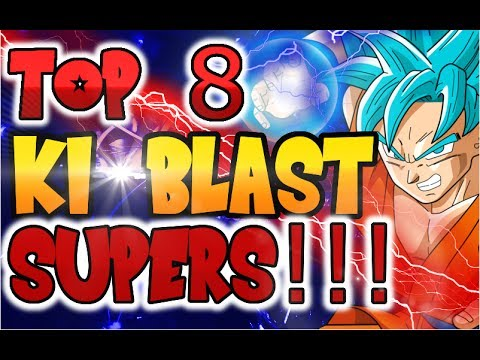 TOP 8 MOST DAMAGING KI BLAST SUPERS I Dragon Balll Xenoverse 2