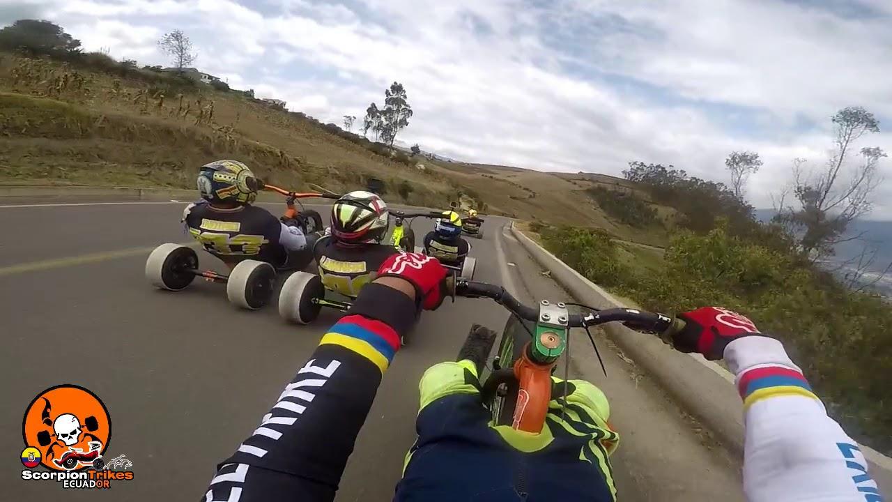 Final Speed Trike Sudamericano Ecuador @TeslaFly Drones