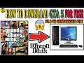 Best Trick to Download GTA 5 Full Game Highly Compressed(35 GB) for Free! Direct Link!