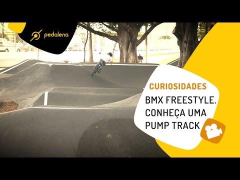 Pedaleria - BMX Freestyle - Conheça uma pista de pump track