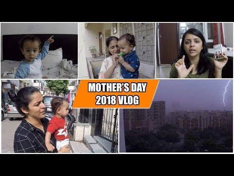 Mother's Day Vlog || Surprising Naani || Crazy Thunderstorm || Kabir Had Fun