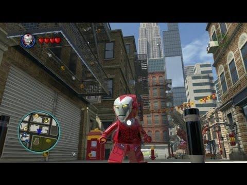 LEGO Marvel Super Heroes - Unlocking Pepper Potts & Rescue + Gameplay