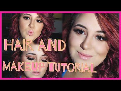 Hair And Makeup Tutorial!!