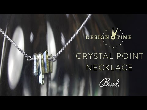 Crystal Point Necklace - Design Time