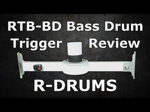 R-DRUMS Kick Trigger (E-Drum Kick Pad)