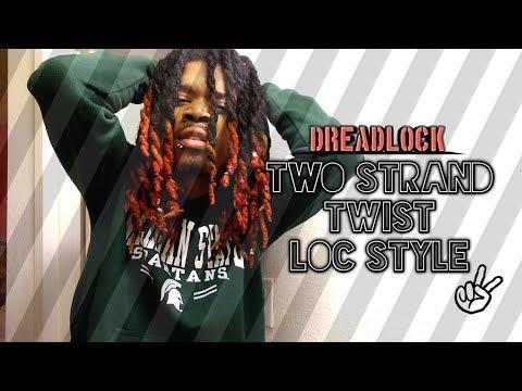 DreadLock Journey | Two Strand Twist Style