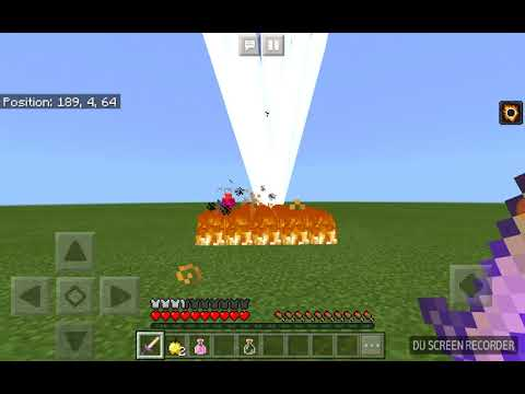 Fighting my dad in Minecraft using OVERPOWERED SWORDS!!!!!!!!!!