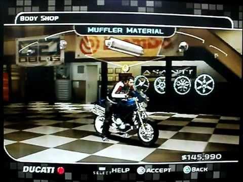 Midnight Club 3 Buying a Sports Bike [PS2]