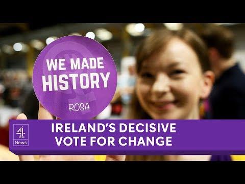 Referendum overturns Ireland's abortion ban