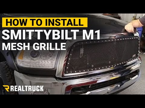 How To Install the Smittybilt M1 Mesh Grille