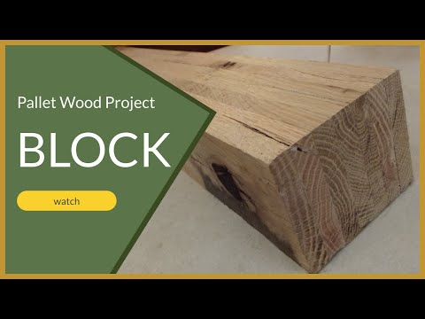 Pallet projects how to make a laminated piece of wood from pallet wood