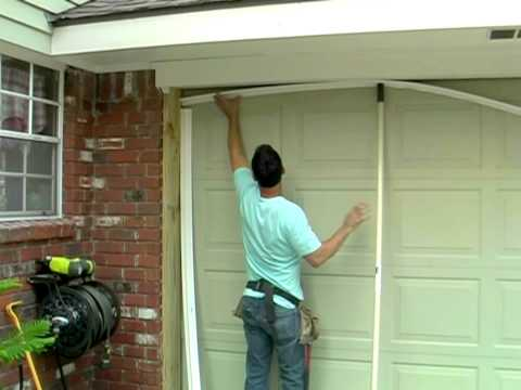 Weatherproofing your garage!