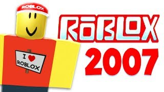 WHAT ROBLOX WAS LIKE 10 YEARS AGO