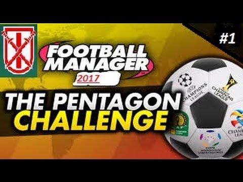 Football Manager Pentagon Challenge: #1 My First Job