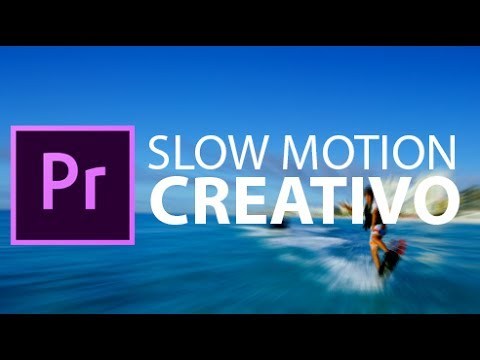 Adobe Premiere Pro CC 2017 - Slow motion creativo - Tutorial italiano passo passo