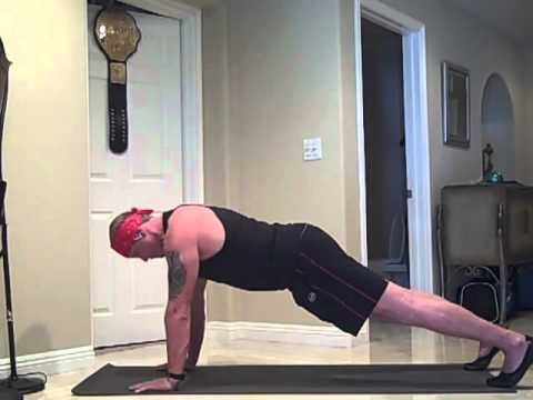 DDP Does a 6 minute Plank ... Watch!