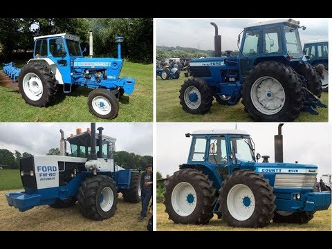 Ford Tractors Sold for Record Prices on Auction in England Last Month