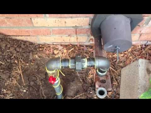 Domestic Natural Gas Line Repair 20140227