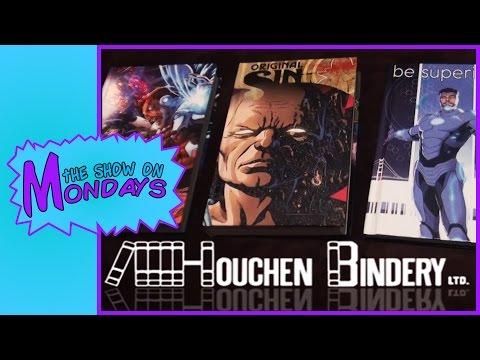 CUSTOM BOUND Comic Books from Houchen Bindery! | The Show on Mondays - Auram