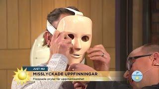 Uppfinningarna som misslyckades - totalt - Nyhetsmorgon (TV4)
