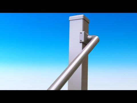 Straight Handrail Pipe by Solutions Aluminum Railing