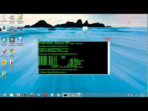 How to make a command prompt and block an unblock a website just by using the command prompt