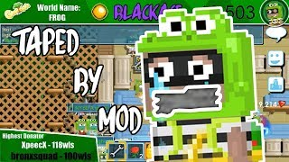 I Got Duct Taped By a Mod @ShadowSurfer | Growtopia