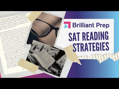 SAT Foundations #7: Reading Passage Strategies