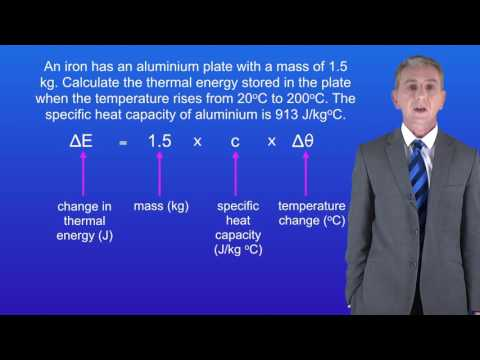 GCSE Science Physics (9-1) Specific Heat Capacity