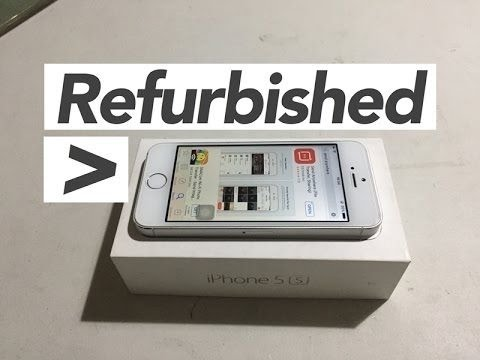 Unboxing - iPhone 5S Refurbished for $100 & Mophie Juice Pack Reburbished for $7