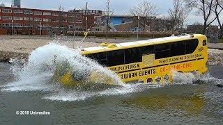 SPLASHTOURS ROTTERDAM | the spectacular splashing swimming bus | 4K-Quality-Video