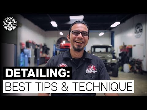 Best Detailing Tips and Techniques! - Chemical Guys