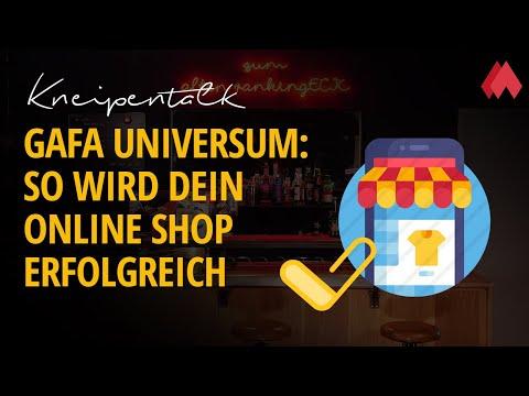 GAFA Universum: So wird Dein Online Shop erfolgreich | morefire Kneipentalk
