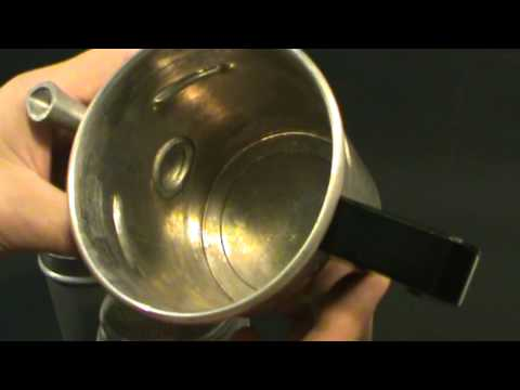 Flip Coffee Pot made in Italy how to use flip coffee pot.