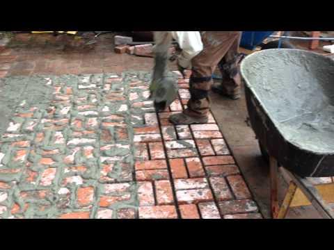 Encino Brick Work New Brick Floor For Your Patio Shafran Construction 818-735-0509