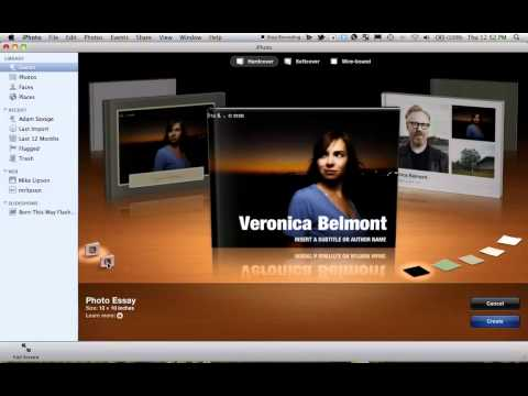 How To Make a Photo Book in iPhoto