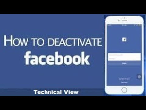 Deactivate Facebook Account in Mobile Temporarily/Permanent 2017/2018 (Most Easy Steps)
