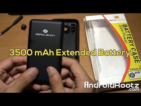 ZeroLemon 3500mAh Battery for the Galaxy S6!!