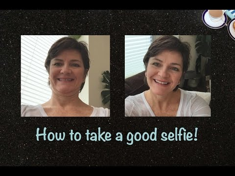 How to take a good selfie over 40
