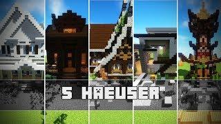 Besser Bauen Videos Ytubetv - Minecraft hauser schnell bauen