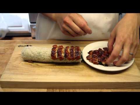 How to Make Sushi -  Shrimp Eel Rolls