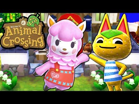 Animal Crossing: New Leaf - Fall Flora Misfortune Gameplay Walkthrough Ep.87 Nintendo 3DS