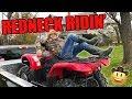 KID FALLS OFF ATV | SUNDAY FUNDAY | GRIZZLY 660 | MOTO VLOG