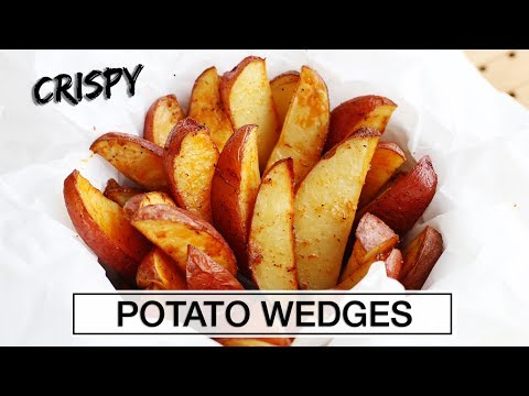 How to Make Perfect Potato Wedges | EASY + TASTY