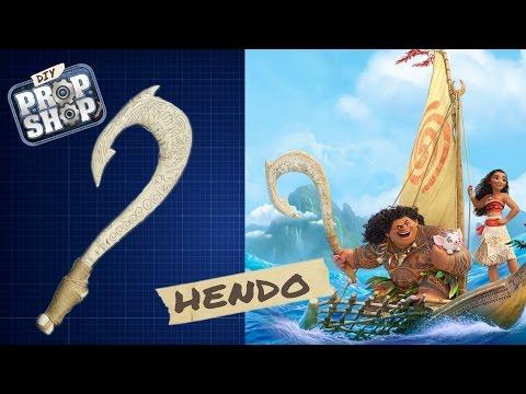 Maui's Hook - Moana - DIY PROP SHOP