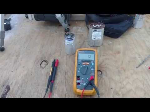 How to check a capacitor