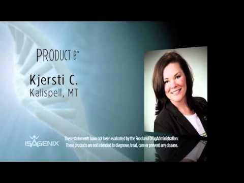 Isagenix Product B - Testimonials Video