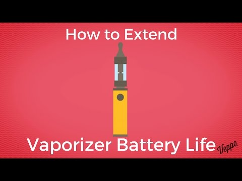 How to Extend Vape Battery Life