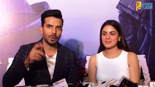 Beautiful Shraddha Arya & Manit Joura Full Interview - Falsafa Trailer Launch