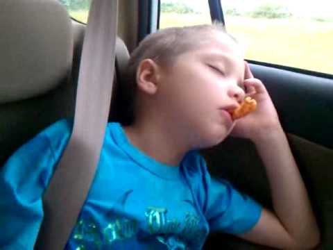 don't fall asleep in the car